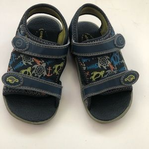 Stride Rite Boys Sandals Everett Turtles